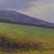 Sussex Field - oil on wood - Kim Aerts